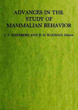 Advances in the study of mammalian behavior