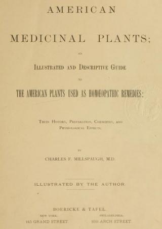 American medicinal plants