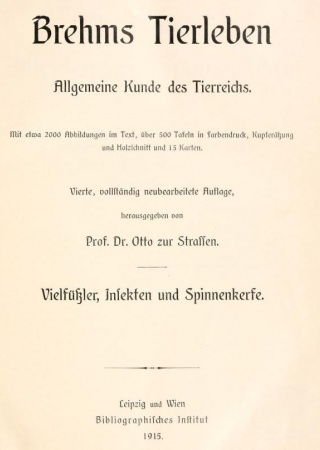 Brehms Tierleben Bd. 2