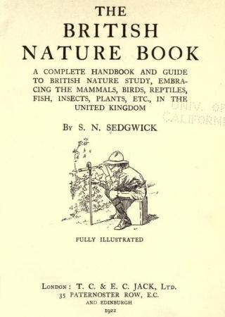 The British nature book