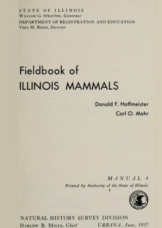 Fieldbook of Illinois mammals